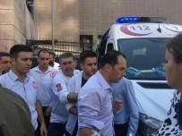 GAZ KAÇAĞI - İzmir Adliyesi'nde Gaz Sızıntısı Açıklaması 5 Kişi Hastanelere Kaldırıldı