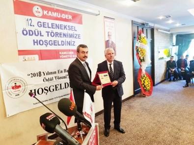 Karamehmetoğlu'na 'Yılın Belediye Başkanı' Ödülü