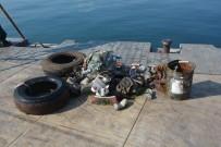 SINOP ÜNIVERSITESI - Sinop'ta Denizden Çıkanlar Şaşırttı