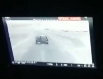 Teröristlerle yaşanan çatışma kamerada