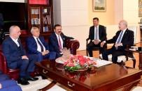 MAHMUT ARSLAN - Türkiye-AB KİK Üyelerinden Kılıçdaroğlu'na Ziyaret