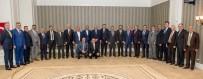 MURAT ZORLUOĞLU - Vali Zorluoğlu, Oda Başkanlarıyla Bir Araya Geldi