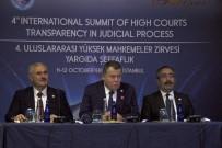 YARGI SİSTEMİ - Yargıtay Başkanı Cirit Açıklaması 'Halkın Adalet Sistemine Duyduğu Güvenin Korunması, Yargı Organının Sorumluluğundadır'