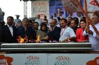 Adana Lezzet Festivali'nde Mangal Ateşi Yakıldı
