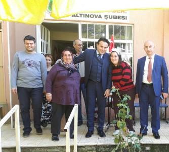 Ahmet Çakar, Ayvalık HEM Bünyesindeki Engelli İş Atölyesinde İncelemelerde Bulundu