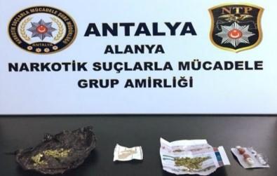 Alanya'da Uyuşturucu Operasyonunda 3 Tutuklama