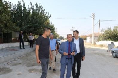 Alaşehir Hacıaliler'in Üstyapısı Yenileniyor