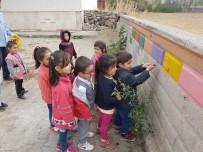Anasınıfı Öğrencileri Okullarını Boyadı