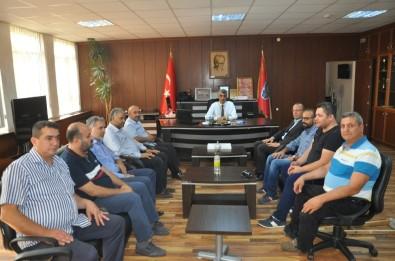 Basın Mensuplarından Emniyet Müdürü Yaman'a Ziyaret