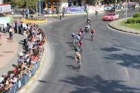ATATÜRK HEYKELİ - Bisiklet Turu Aydın'da Coşkuyla Karşılandı
