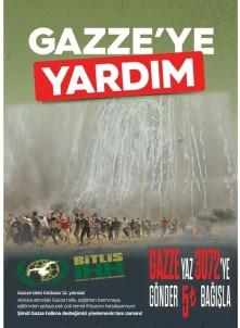 Bitlis İHH'dan Gazze'ye Yardım Çağrısı
