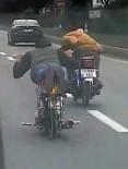 Bolu'da Motosikletli Sürücüler Tehlike Saçtı