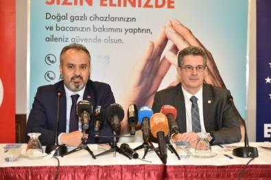 Bursa'nın Hedefi 'Güvenli Doğalgaz Kullanımı'