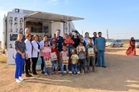 BÜYÜKDERE - Çadırlarla Yaşayan Gezici Tarım İşçilerine Sağlık Taraması