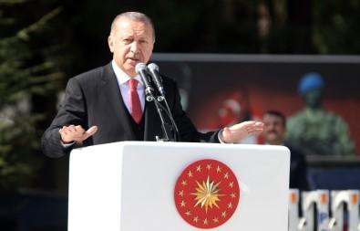 Cumhurbaşkanı Erdoğan Açıklaması 'Fırat'ın Doğusundaki Terör Yuvalarını Da Darmadağın Edeceğiz'