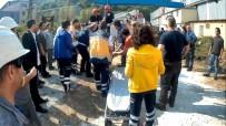 ÖRENCIK - Elektrik Akımına Kapılan İşçi Ağır Yaralandı