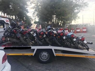 Gaziantep'te Motosiklet Hırsızlarına Operasyon Açıklaması 6 Gözaltı