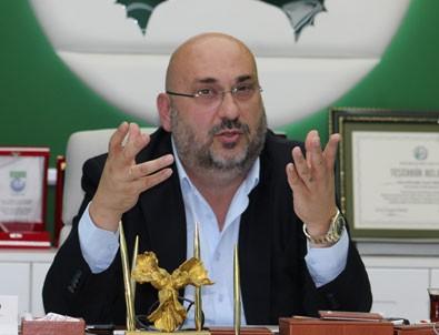 Giresunspor Kulüp Başkanı Mustafa Bozbağ, Ankara'da hastaneye kaldırıldı