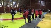 GÜREŞ MİLLİ TAKIMI - Grekoromen Güreşçiler Dünya Şampiyonası'na Hazırlanıyor