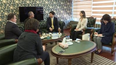 Güney Kore İstanbul Başkonsolosu AA'yı Ziyaret Etti