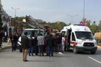 ULU CAMİİ - Kamyonet Yayaya Çarptı Açıklaması 1 Yaralı