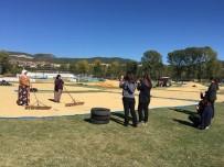 Kargı'da Öğrencileri Çeltik Hasadını Fotoğrafladı