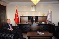 EĞİTİM KAMPÜSÜ - Keleş, BEÜ Rektörü Prof. Dr. Çufalı İle Ereğli Kampüsünü Görüştü