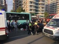 MERKEZ EFENDİ - Manisa'da Zincirleme Kaza Açıklaması 5 Yaralı
