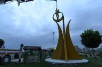ŞAKIR ÖNER ÖZTÜRK - Mardin Merkezine Bayrak Çalışması