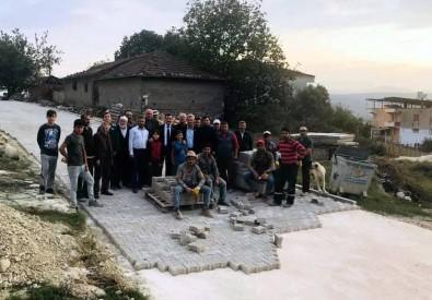 Marmaracık Köyünde Parke Taşı Sevinci
