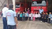İTFAİYE MÜDÜRÜ - Minik Öğrencilere İtfaiye Eğitimi Verildi