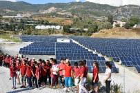 ENERJİ SANTRALİ - Öğrenciler Güneş Enerjisi Santrali'ni Gezdi