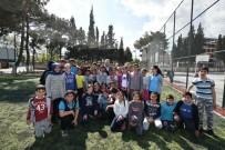 OKUL BAHÇESİ - Okul Bahçeleri Spor Alanına Dönüştü