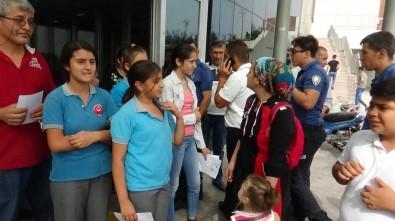 Okulda Kaşınmaya Başlayan Öğrenciler Soluğu Hastanede Aldı