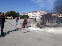 Özel İdare Personeline  Yangın Eğitimi