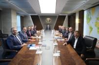 İL BAŞKANLARI - Sanayi Bakanı Varank'a Karabük, Zonguldak Ve Bartın Çıkarması