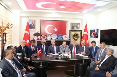Şehit Ve Gazi Dernekleri Başkanları Kırşehir'de İstişare Toplantısında Buluştu