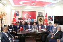 AHİ EVRAN KÜLLİYESİ - Şehit Ve Gazi Dernekleri Başkanları Kırşehir'de İstişare Toplantısında Buluştu