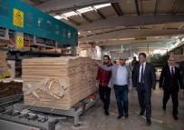 HASAN YAMAN - Vali Büyükakın Fabrika Ziyaretlerini Sürdürüyor