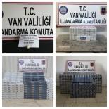 ŞÜPHELİ ARAÇ - Van'da 15 Bin 910 Paket Kaçak Sigara İle 60 Gram Eroin Ele Geçirdi