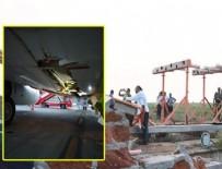 DUBAI - Yolcu uçağı havalimanı duvarına çarptı!