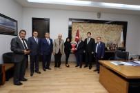 MUAMMER TÜRKER - Afyonkarahisar Basın Yayın Derneği'nden Başkan Çoban'a Ziyaret