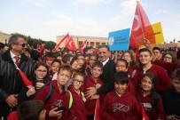 GARNİZON KOMUTANI - Ankara'nın Başkent Oluşunun 95. Yıl Dönümü Kutlamaları Anıtkabir Ziyareti İle Başladı