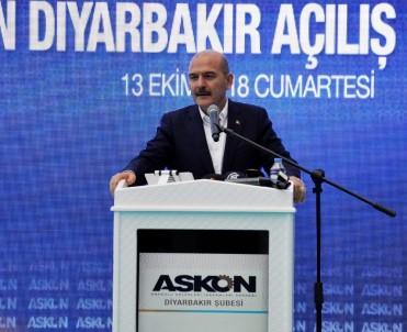 Bakan Soylu Açıklaması 'Diyarbakır'da 2014'Te 621 Olan Terör Olayı Sayısı Bu Yıl 4'E Düştü'