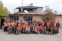 PAMUKÖREN - Başkan Ertürk, Belediye Çalışanları İle Kahvaltıda Buluştu