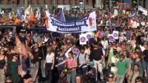 GÜNEŞLI - Berlin'de Irkçılık Karşıtı Protesto