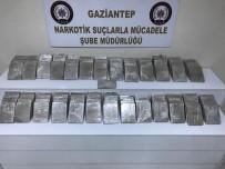 GAZIANTEP EMNIYET MÜDÜRLÜĞÜ - Bir Ülke 7 İlden Geçen Eroin Yüklü Tır, Gaziantep'te Yakalandı