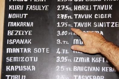 Bodrum'daki yemek fiyatları şok etti!