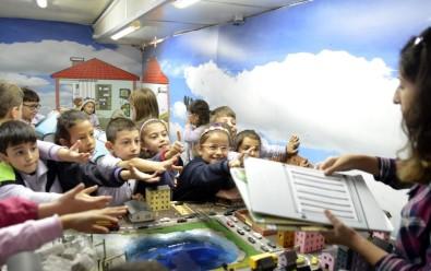 Çocuklar Eğlenerek Geri Dönüşümü Öğreniyor