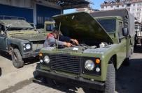 ARAZİ ARACI - Eski Askeri Araçlar, Off-Road Yarışları İçin Restore Ediliyor